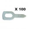 100 колец для прямого вытягивания