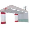 Пост подготовки к окраске с подогревом и с диагональным забором воздуха PP422